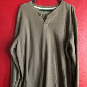 Other - Men's long sleeve thermal shirt
